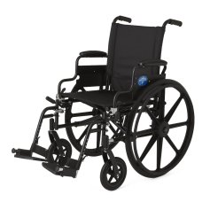 Medline K4 wheelchair, manual wheelchair, light weight wheelchair